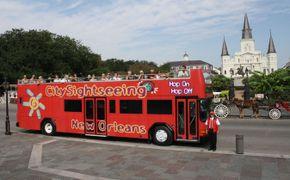 Excursi�n en autob�s de City Sightseeing con paradas libres por la ciudad de Nueva Orleans