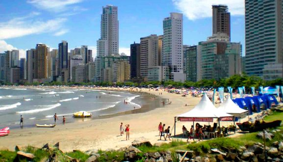 Playas del sur de Brasil