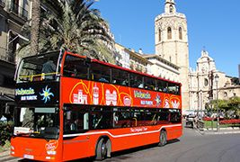 Bus tur�stico por Valencia