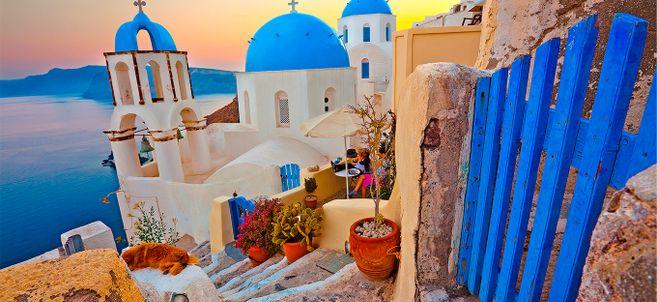 Resultado de imagem para santorini grecia
