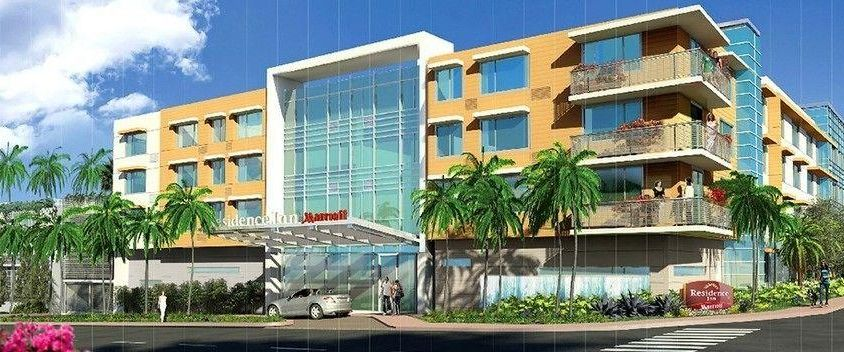 residence inn miami beach surfside, surfside   hoteles en