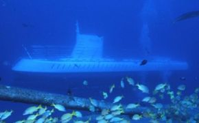 Aventura en el submarino Oahu Atlantis