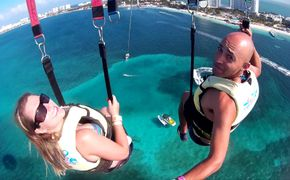 P�ra-quedas Cancun