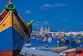 La Gruta Azul y el mercado de Marsaxlokk