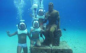 Caminata Submarina Aquanautas