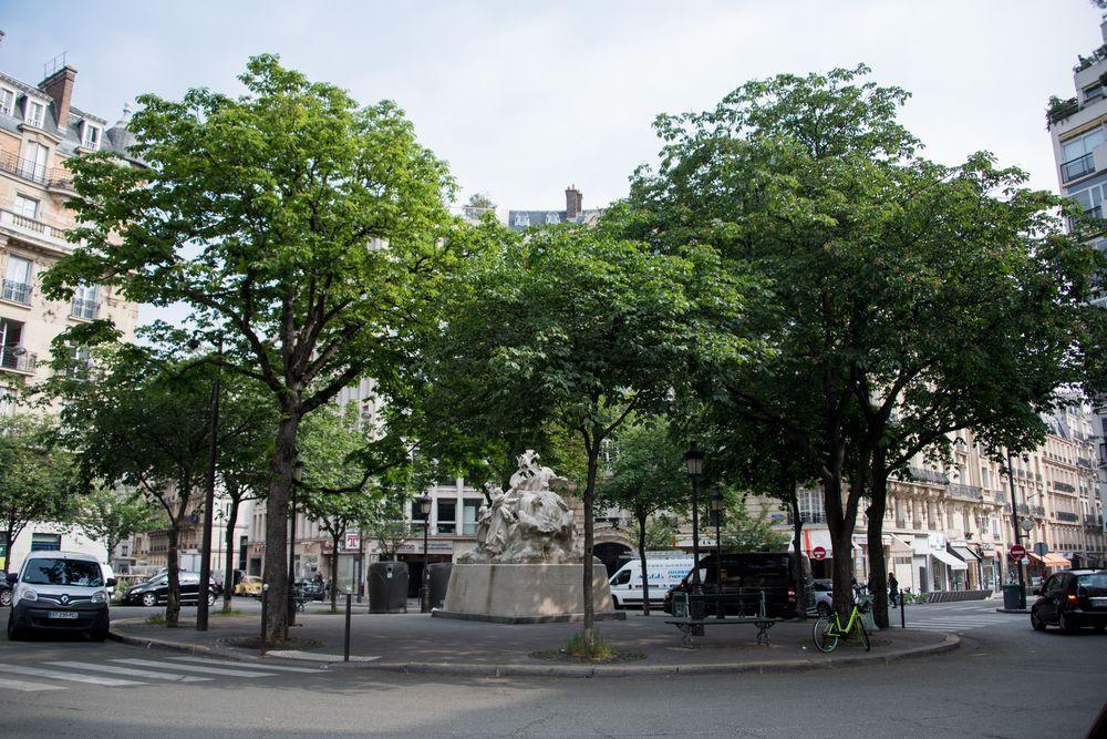 Contemporary near Arc de Triomphe