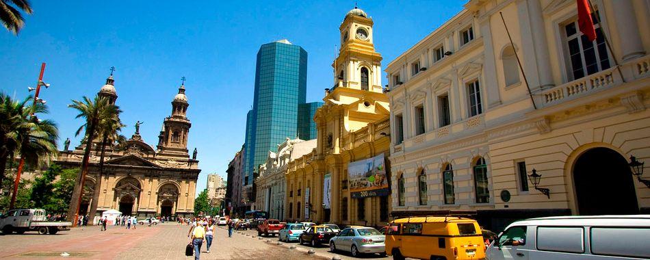 Turismo en santiago de chile for Papeles murales en santiago de chile